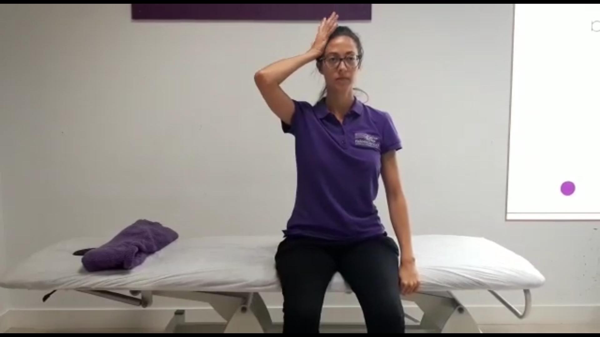 Ejercicio 2: Prevención del dolor de cuello